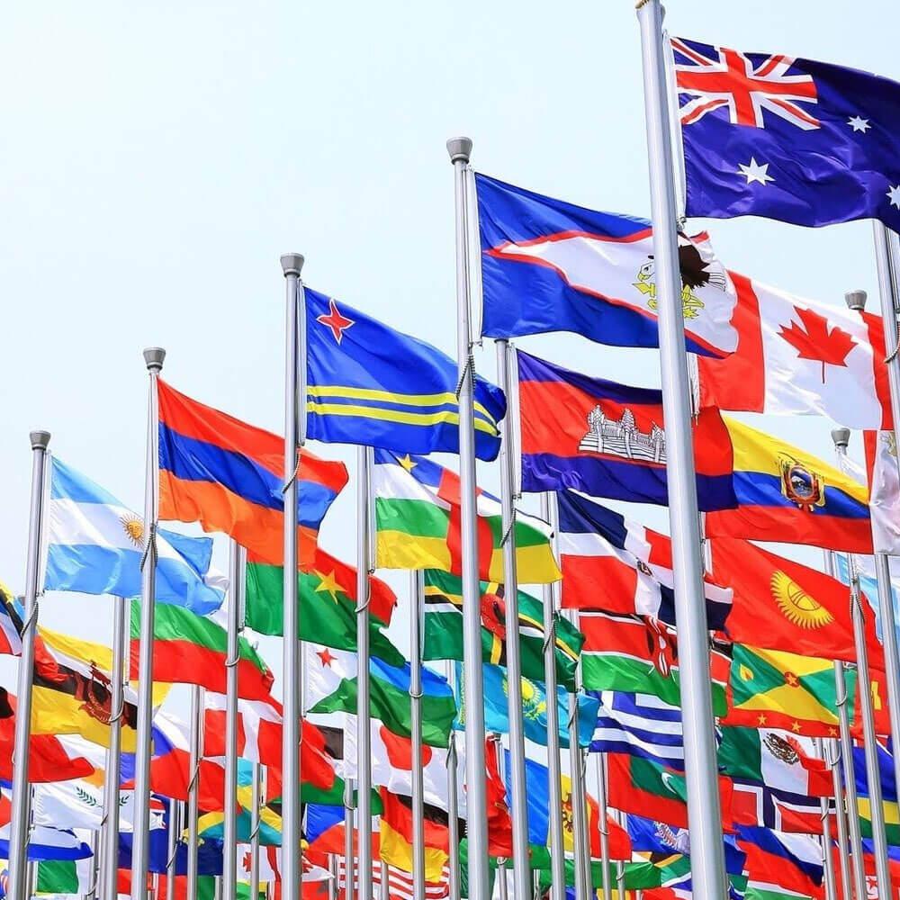 Landen vlaggen